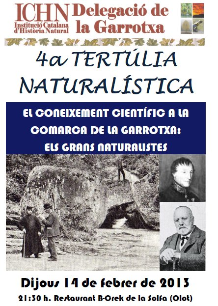 4a Tertúlia naturalística