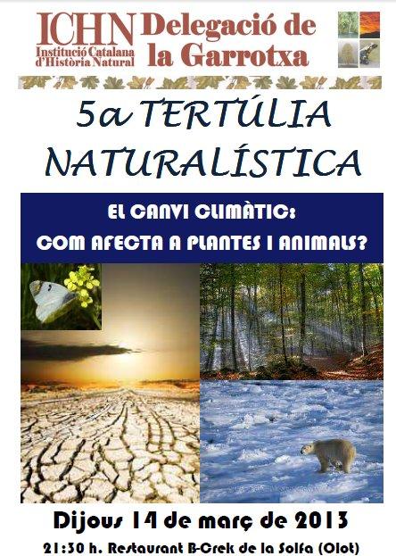 5a Tertúlia naturalística