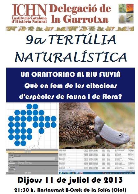 9a Tertúlia naturalística