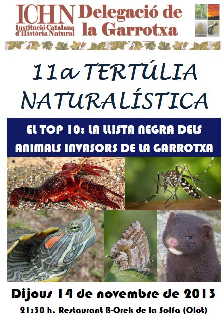 11a Tertúlia naturalística