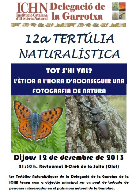 12a Tertúlia naturalística