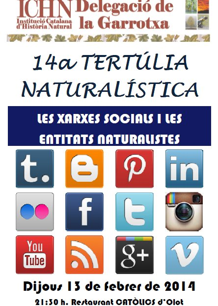14a Tertúlia naturalística
