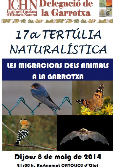 17a Tertúlia naturalística