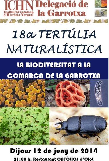 18a Tertúlia naturalística