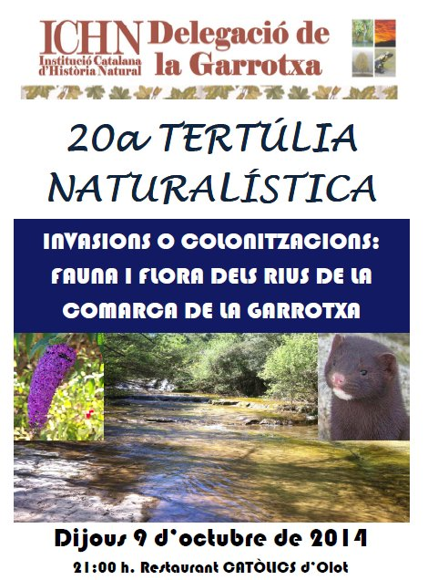 20a Tertúlia naturalística