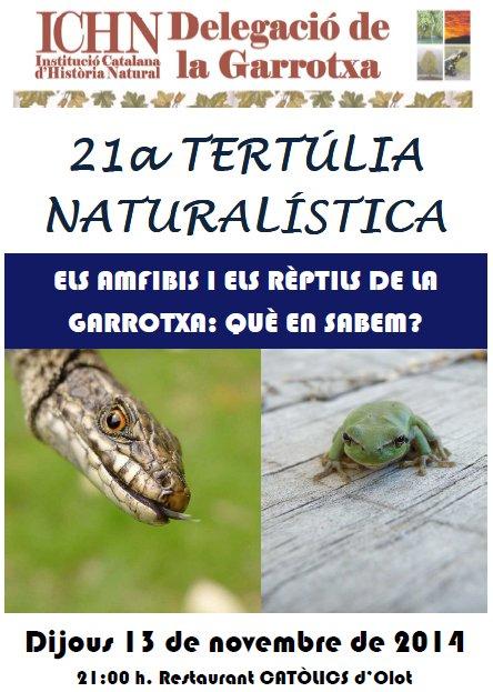 21a Tertúlia naturalística