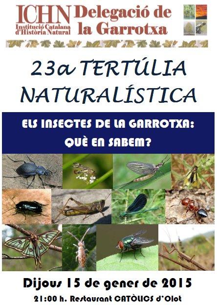23a Tertúlia naturalística