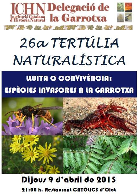 26a Tertúlia naturalística