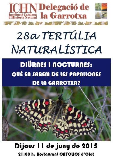 28a Tertulia naturalistica