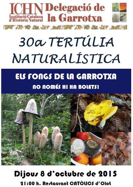 30a Tertúlia naturalística