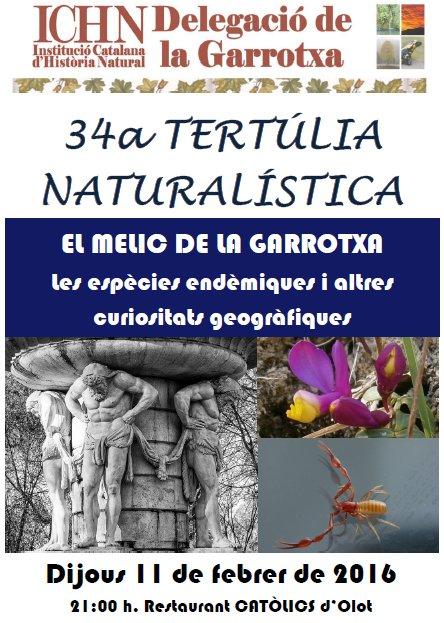 34a Tertúlia naturalística
