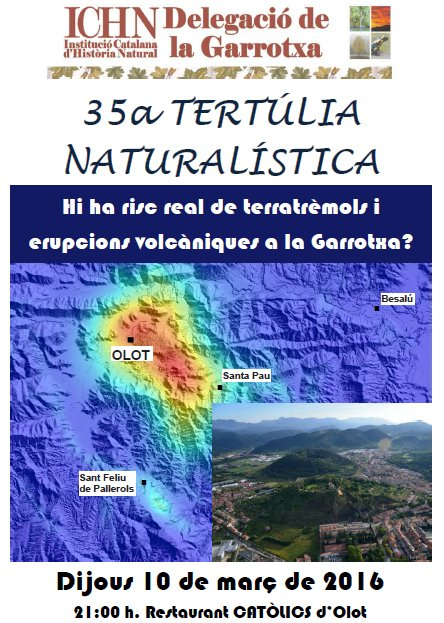 35a Tertúlia naturalística
