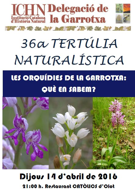 36a Tertúlia naturalística